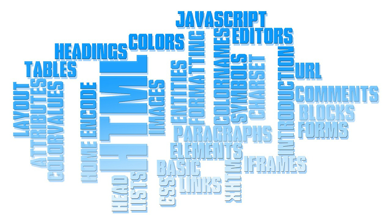 Web Development Word Cloud